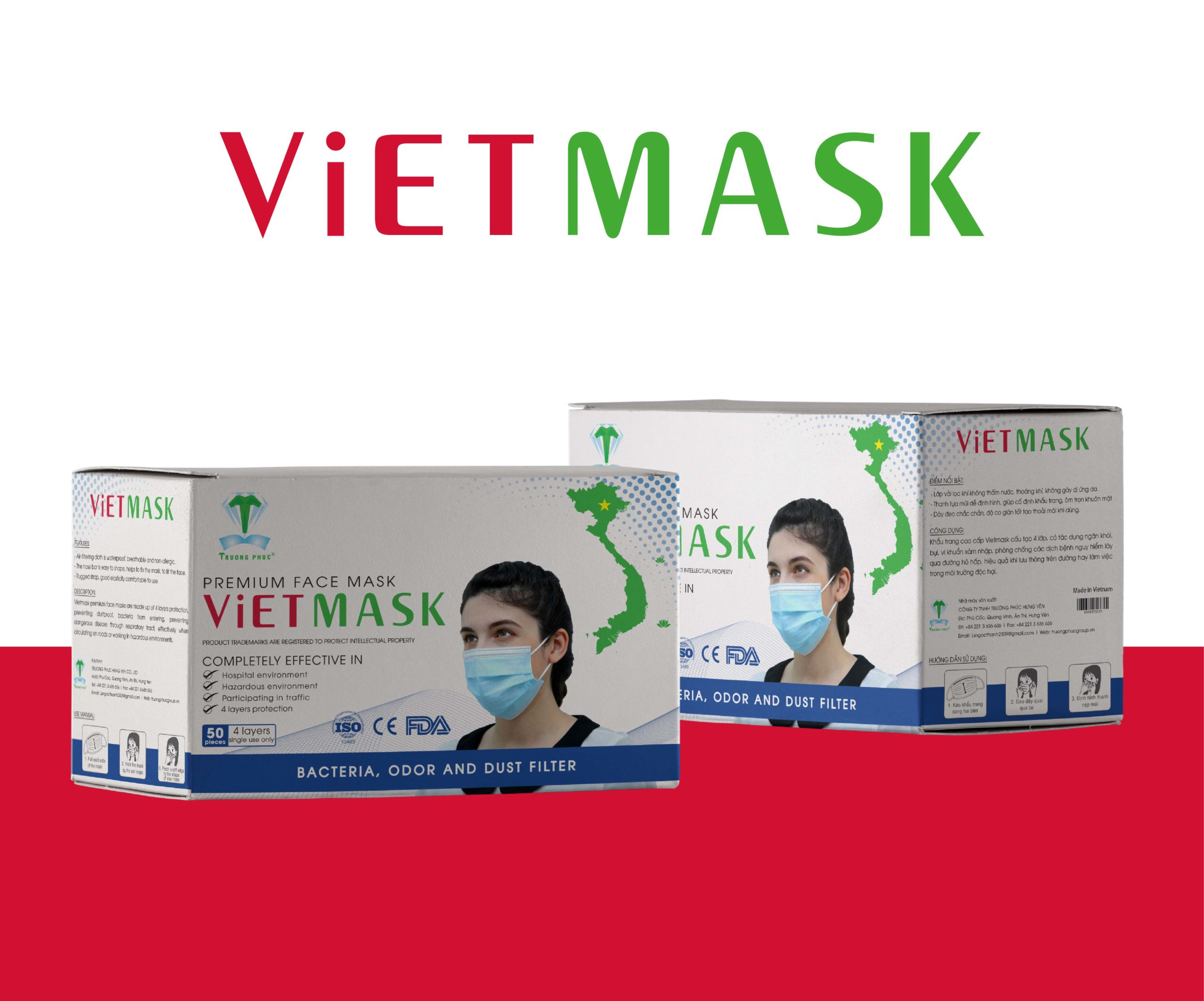 Face mask box - Vietmask